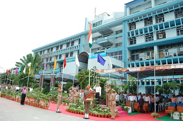 DRM Saluting Indian Flag
